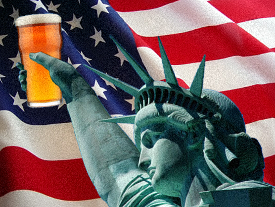 statue of liberty beer